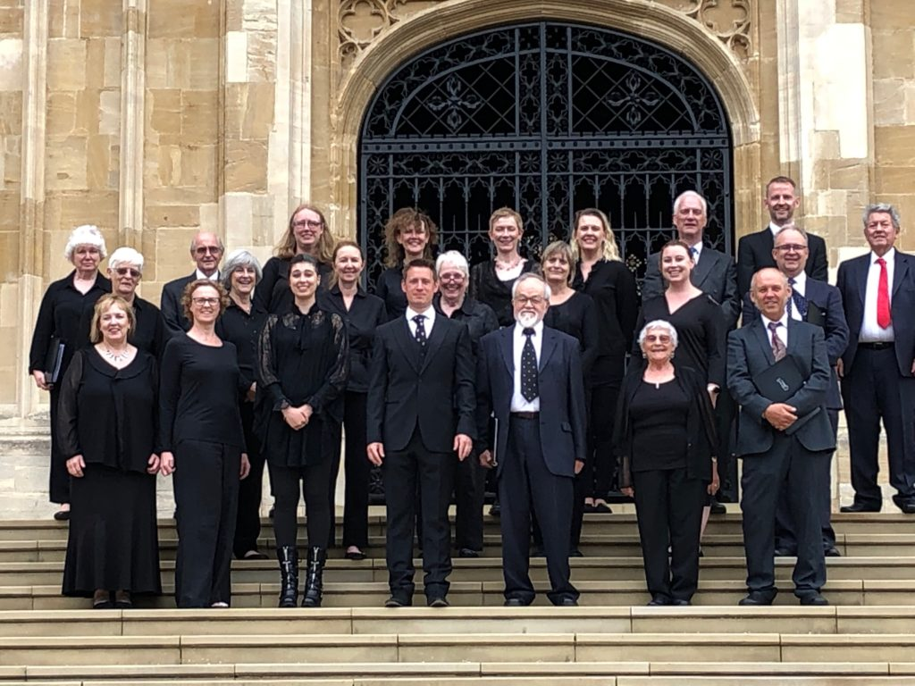 The Hythe Singers at St George's Chapel, Windsor Castle